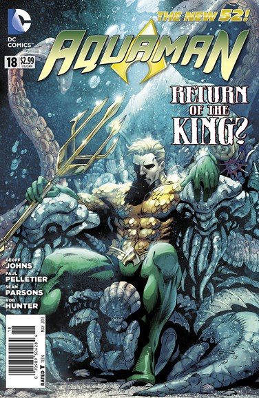 Aquaman Cover - 5/1/2013