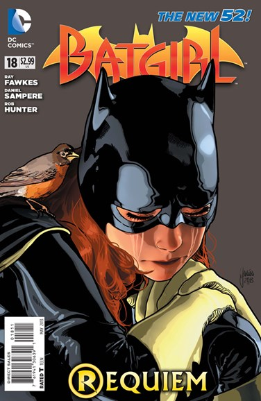 Batgirl Cover - 5/1/2013