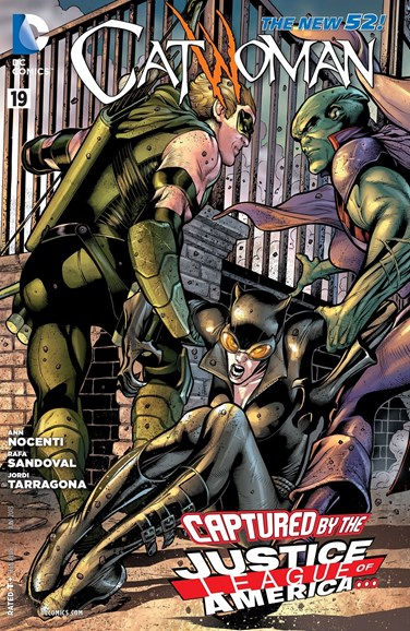 Catwoman Cover - 6/1/2013