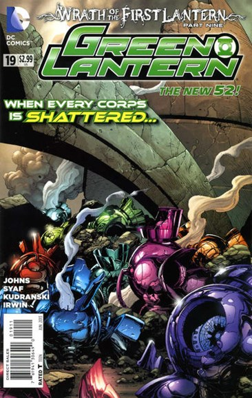 Green Lanterns Cover - 6/1/2013
