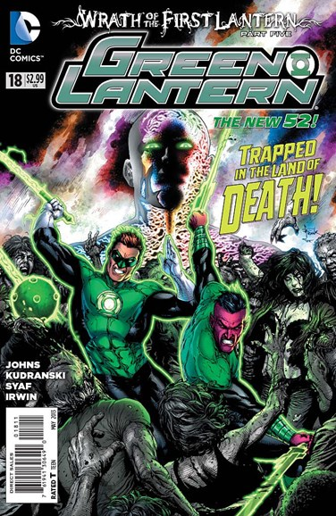 Green Lanterns Cover - 5/1/2013