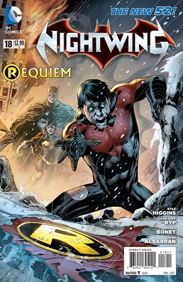 Nightwing Cover - 5/1/2013