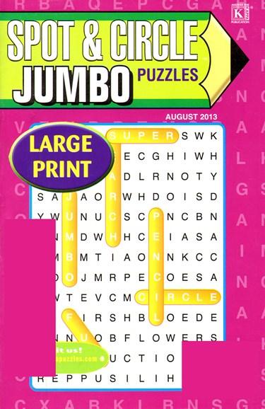 Spot & Circle Jumbo Cover - 8/1/2013