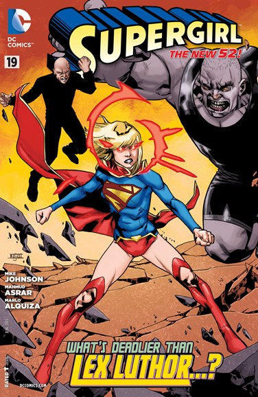 Supergirl Cover - 6/1/2013