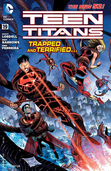 Teen Titans Cover - 6/1/2013