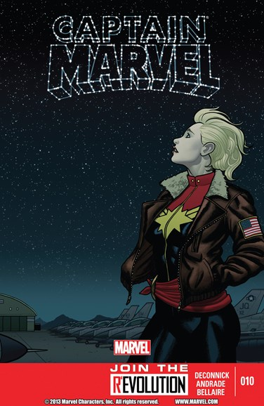 Captain Marvel Cover - 4/1/2013