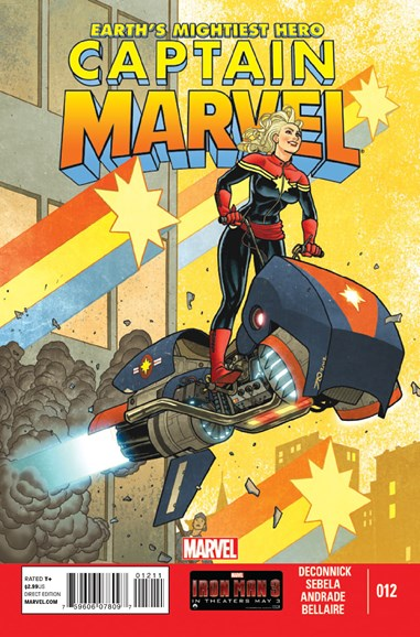 Captain Marvel Cover - 6/1/2013