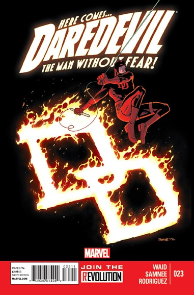 Daredevil Cover - 4/1/2013