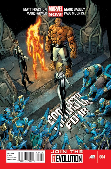 Fantastic Four Cover - 4/1/2013