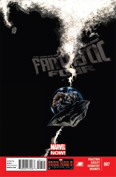 Fantastic Four Cover - 6/15/2013