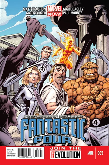 Fantastic Four Cover - 5/1/2013