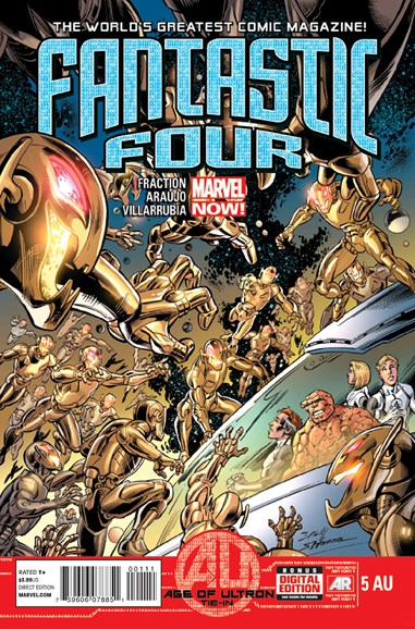 Fantastic Four Cover - 5/15/2013