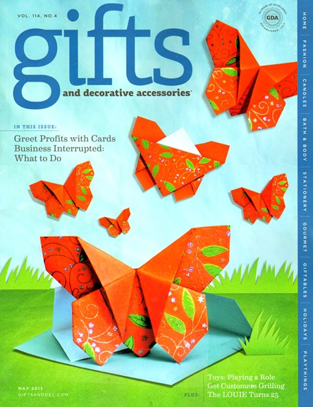 Gifts And Decorative Accessories Cover - 5/1/2013