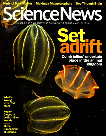 Science News Cover - 5/20/2013