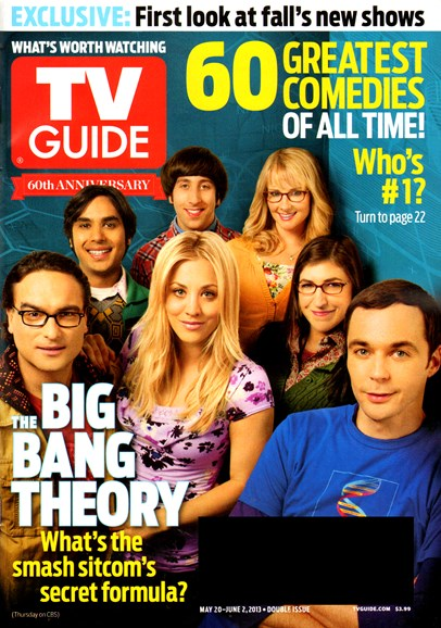 TV Guide Cover - 5/20/2013