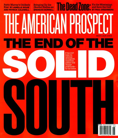 The American Prospect Cover - 5/1/2013