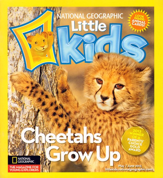 National Geographic Little Kids Cover - 5/1/2013