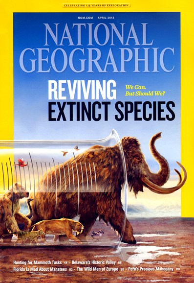 National Geographic Cover - 4/1/2013