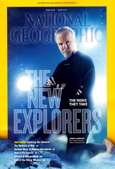National Geographic Cover - 6/1/2013
