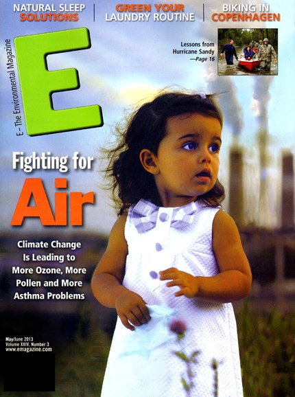 E: The Environment Magazine Cover - 5/1/2013