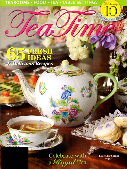Tea Time Cover - 5/1/2013