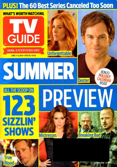TV Guide Cover - 6/3/2013
