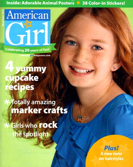 American Girl Cover - 5/1/2013