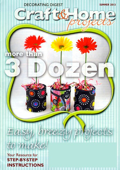 Decorating Digest Craft & Home Projects Cover - 6/1/2013