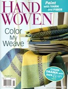 Handwoven Magazine 5/1/2013