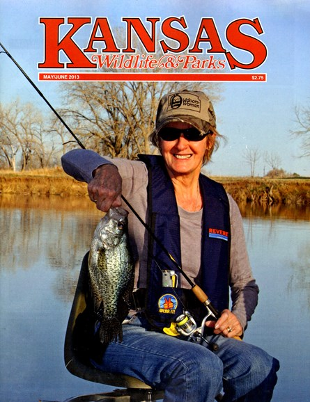 Kansas Wildlife & Parks Cover - 5/1/2013