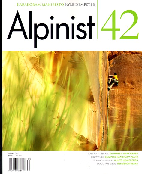 Alpinist Cover - 4/1/2013