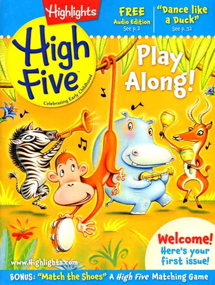 Highlights High Five Cover - 4/1/2013