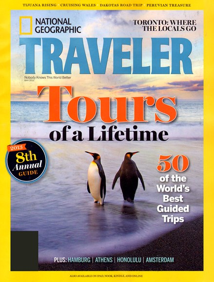 National Geographic Traveler Cover - 5/1/2013