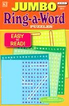 Jumbo Ring a Word Magazine 8/1/2013