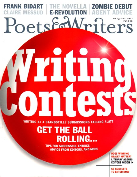 Poets & Writers Cover - 5/1/2013