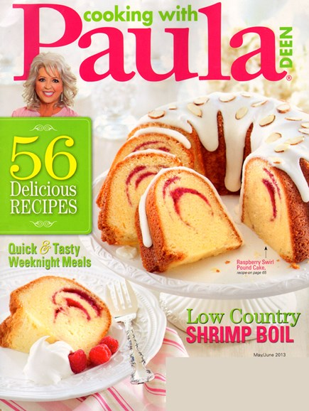 Cooking With Paula Deen Cover - 5/1/2013