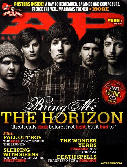Alternative Press Cover - 6/1/2013