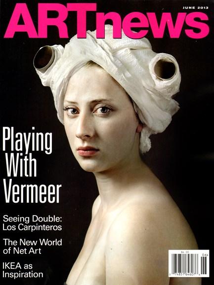 ARTnews Cover - 6/1/2013