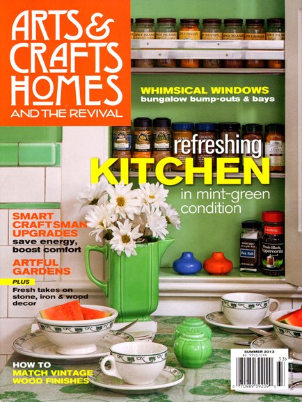 Arts & Crafts Homes Cover - 6/1/2013