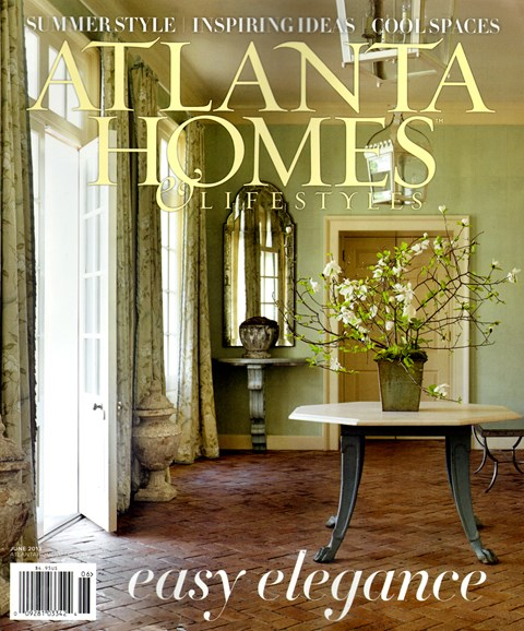 Atlanta Homes & Lifestyles Cover - 6/1/2013