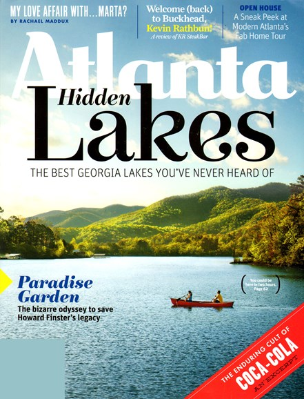 Atlanta Magazine Cover - 6/1/2013