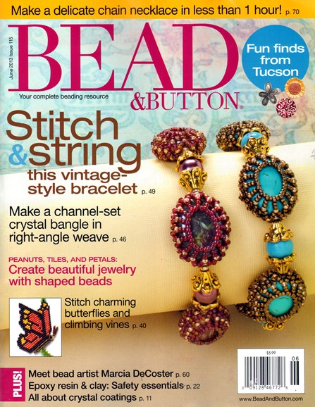 Bead & Button Cover - 6/1/2013