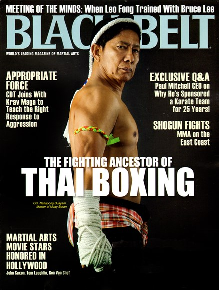 Black Belt Magazine Cover - 6/1/2013