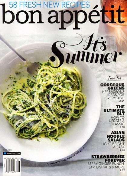 Bon Appétit Cover - 6/1/2013