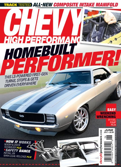 Chevy High Performance Cover - 6/1/2013