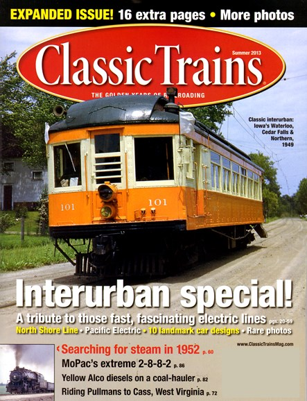 Classic Trains Cover - 6/1/2013