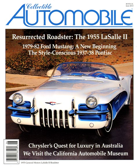 Collectible Automobile Cover - 6/1/2013