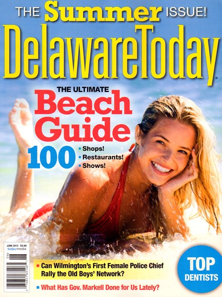 Delaware Today Cover - 6/1/2013
