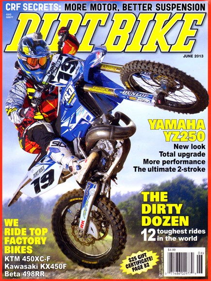 Dirt Bike Cover - 6/1/2013