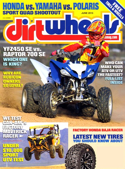 Dirt Wheels Cover - 6/1/2013